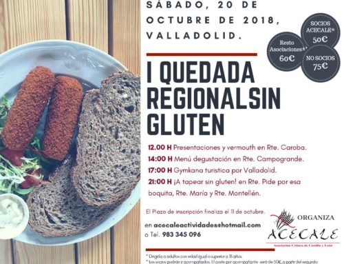 I Quedada Regional Sin Gluten