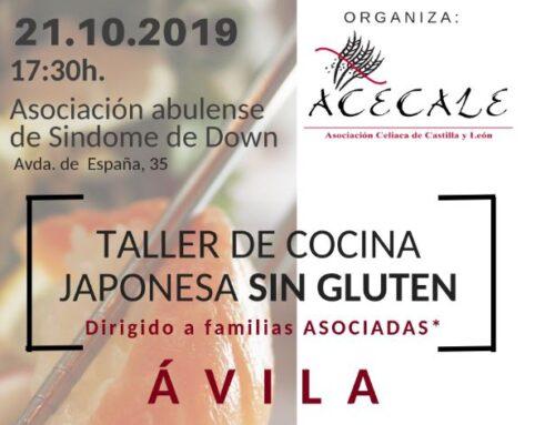 Taller de Cocina Japonesa Sin Gluten en Ávila
