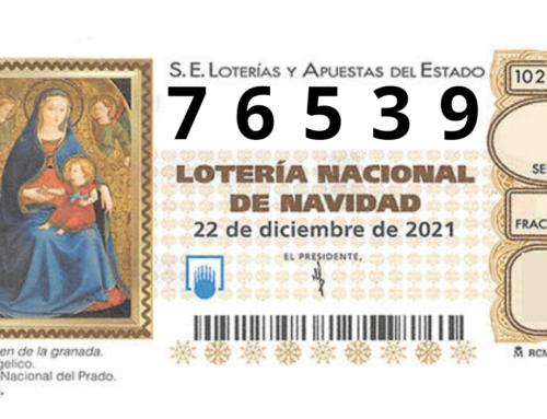 ¡Ya está disponible la lotería de Navidad!